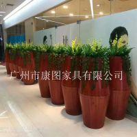 户外家具 户外家具厂家直销定制防腐木花箱 木质组合花箱