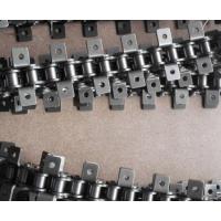 厂家直销1寸节距25.4不锈钢单侧双孔弯板链条