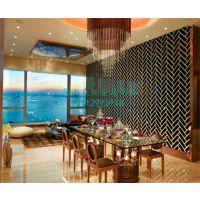 不锈钢 屏风 酒店装饰不锈钢隔断 304镂空花格屏风定制