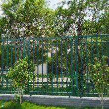 梅州社区铁艺护栏定做 住宅区庭院围墙铁栅栏 茂名锌钢防护栏杆价格