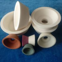 陶瓷砂轮白刚玉绿碳化硅铬刚玉白刚玉铁红碗型砂轮厂家定制