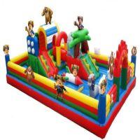 户外充气城堡乐园大型户外玩具卡通充气蹦床跳跳床定制厂家直销