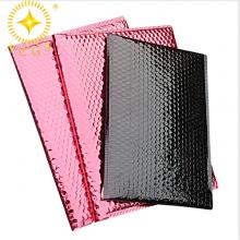 成都彩色镀铝膜气泡袋供应厂家防震电子产品物流包装袋