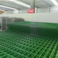 农业基地围栏网A双边丝护栏网厂家围栏网A绿色铁网围栏隔离护栏