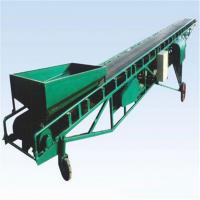 供应防滑倾角运输机 平行式电动装车皮带输送机