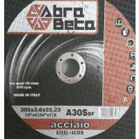 Abra Beta A30S 300*3.8 进口机用钢材切割片_铁路道轨_厂家直销