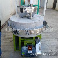 五谷杂粮石磨 小麦 玉米面粉电动石磨 粗粮石磨设备厂家