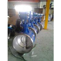 供应九特硬密封焊接蝶阀 D363H-25C 三偏心涡轮对焊蝶阀