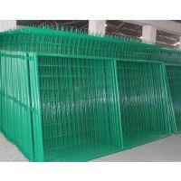 厂家直销光伏电站护栏网圈地双边丝护栏