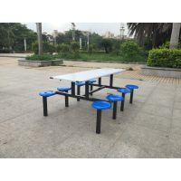 东莞食堂餐桌椅,单位食堂桌椅,唐厦玻璃钢食堂桌椅