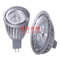 恒流驱动LED射灯 3W外贸插针MR16灯杯 特亮光电TEL-SH010