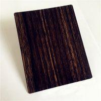 不锈钢转印木纹板-1