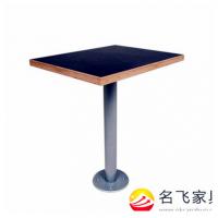 大庆市现代中式人造大理石圆桌快餐店西餐厅不锈钢脚餐桌定做厂家