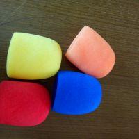 厂家直销新闻采访彩色U型薄款麦克风海绵套