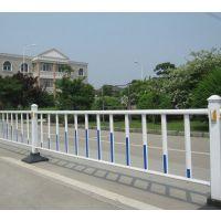 道路两侧隔离栏 锌钢道路护栏 组装简单 拆卸方便