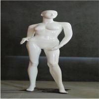 美力新款服装模特展示道具 亮白女款模特衣架全身站姿
