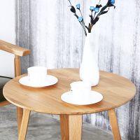 海德利简约现代洽谈桌椅个性实木休闲阳台咖啡厅酒吧甜品店桌可定制实木餐桌
