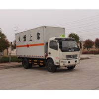 东风国五5米1,5.5吨易燃气体厢式运输车厂家直销价格优惠
