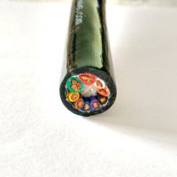 防水电缆2/3/4*0.75/1.0/1.5/2.0 水工专用线缆