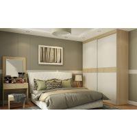 家居100简宜生活卧室家具,衣柜四色门板,三种内部设计可选