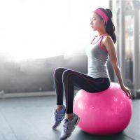 厂家供应瑜伽球加厚防爆正品初学者健身球减肥瘦身运动装备瑜珈球