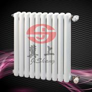钢制散热器 钢二柱暖气片 QFGZ216暖气片冀上采暖
