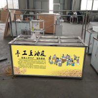 豆制品加工创业项目 酒店手工豆皮机 四川地区 油皮机生产厂家
