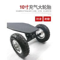 梦客 四轮越野滑板车 全地形通用 大尺寸轮胎 代步更方便