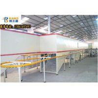 铝型材粉末喷涂设备,氟碳自动喷涂生产线粉体回收配有脉冲装置