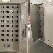大同 阳泉 30门手机寄存柜 电脑存放柜定做尺寸 带漏电保护器