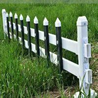 pvc栅栏护栏@小区防护栏塑钢围栏@市政园林绿化隔离栏