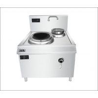 美磁商用电磁炉15kw大功率单头单尾小炒炉电磁灶