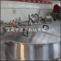 猪肉蒸煮锅 燃气可傾式不锈钢夹层锅 晟品
