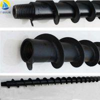 高效螺旋钻杆 42/69/75地质螺旋钻杆 防突钻杆 干式/湿式麻花钻杆