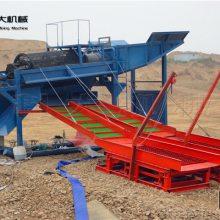 广东溜槽选金机械 鼓动溜槽淘金产品