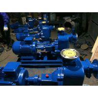 自吸排污泵批发 ZW65-30-18 4KW 湖北众度泵业 大流量自吸排污泵