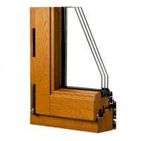 乌鲁木齐铝包木厂家,新疆铝包木批发,德国思耐门窗,金刚网一体窗