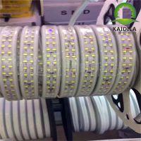 厂家供应5730双排白光灯带led白富美120珠220V高压灯带