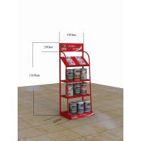 瓷砖胶专用展示架润滑油金属陈列架子大兴批发展架