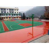室外运动场地面 硅PU球场环保材料 学校运动操场绿色材料