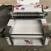 全自动剁鸡块机 商用切鸡块机新型板条式鸡肉切块机