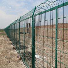 边框护栏网 厂区防护网 浸塑小区隔离网