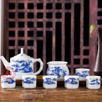 景德镇手绘茶具套装批发图片