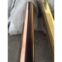 广州201不锈钢彩色管、高档小区护栏装饰专用管