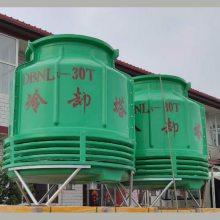 找冷却塔专业安装队 300吨工业逆流冷却塔 机力塔外形尺寸【河北华强】
