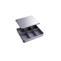 日式调料盒加厚 烹饪调味盆 厨房用品 不锈钢四格装 包邮
