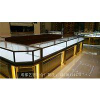 成都艺智柜台厂珠宝展示柜设计,珠宝柜台定制