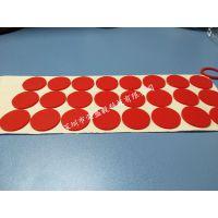 荣盛毅3M自粘防滑脚垫黑白灰红色透明1.0MM硅胶垫单面背胶硅胶垫模切加工