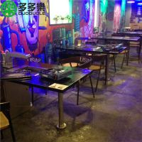烤肉桌椅 火锅烧烤一体桌 韩式无烟自助烧烤餐桌