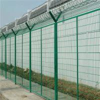 朋英 监狱浸塑隔离网 防护铁丝网围栏 低价促销